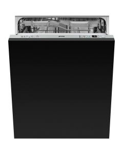 Smeg DI613PMAX 60cm Fully Integrated Maxi Height Dishwasher - Stainless steel