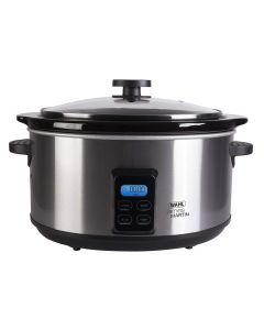 4.7 Litre James Martin Digital Slow Cooker Stainless Steel