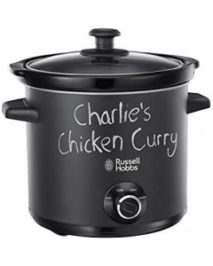 Russell Hobbs 3.5 Litres Chalk Board Slow Cooker Black