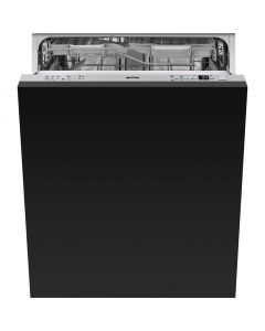 Smeg DI613P 60cm Fully Integrated Standard Dishwasher - Stainless Steel