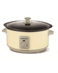 Morphy Richards Sear and Stew Slow Cooker Cream