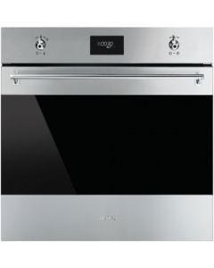 Smeg SFP6372X Classic Stainless Steel Pyrolytic Multifunction Oven
