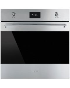 Smeg SFP6378X Classic Stainless Steel Pyrolytic Multifunction Oven